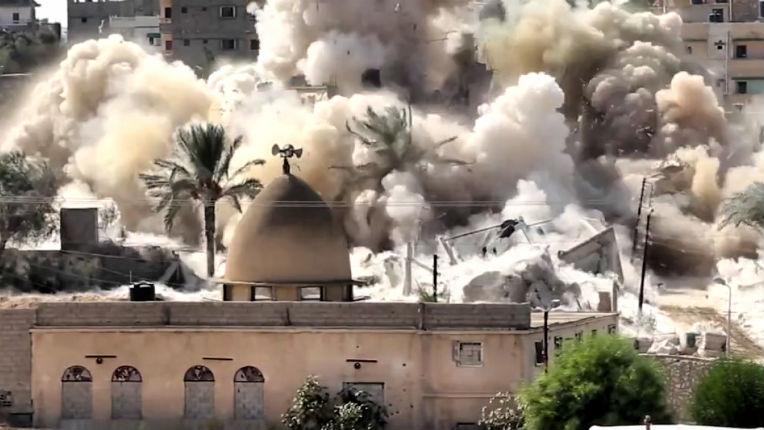 L'Egypte accusé de « violer le droit international » dans le Sinaï pour avoir détruit « des milliers d'habitations » et expulser de force les palestiniens