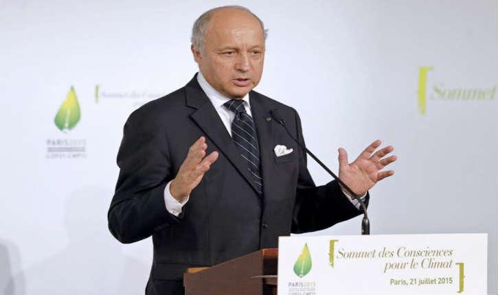 Fabius critique Moscou «La France tape l'Etat islamique. Les Russes, pour le moment, pas du tout»