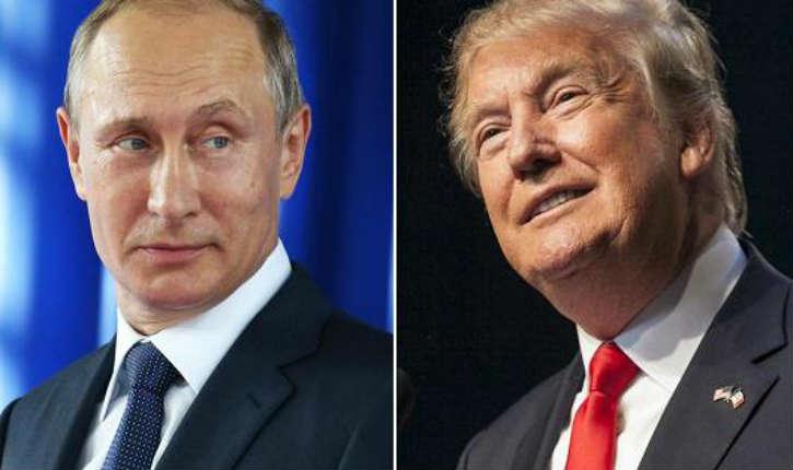 Vladimir Poutine considère Donald Trump comme le «favori incontesté de la course présidentielle»