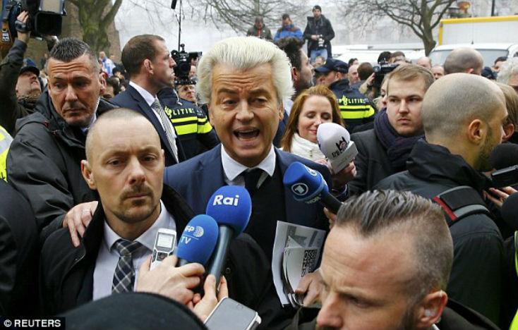 Pays Bas : Geert Wilders lance sa campagne pour dé-islamiser le pays, interdire le Coran, fermer les mosquées et les frontières