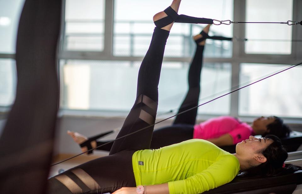 weights, pilates, girls