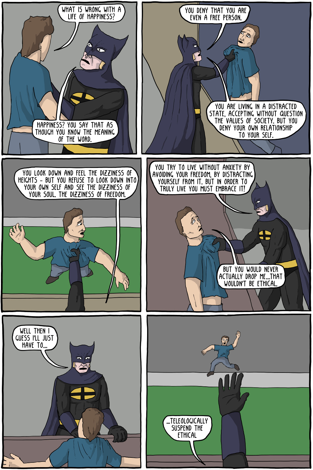 The Dark Knight Of Faith