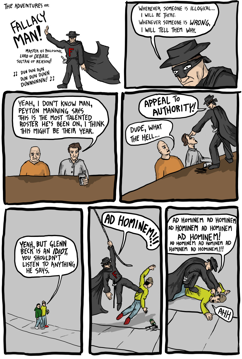 This Comic is Relevant to Every Internet Argument Ever