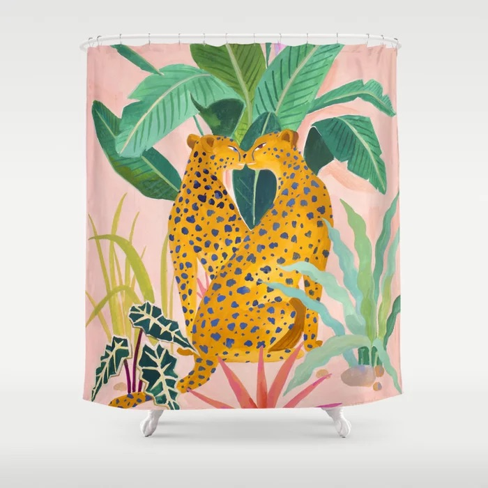 the prettiest shower curtains to