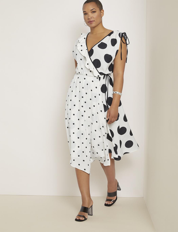 Plus Size Wrap Dress Pattern : dress, pattern, Dresses, Complement, Plus-Size, Types, FabFitFun