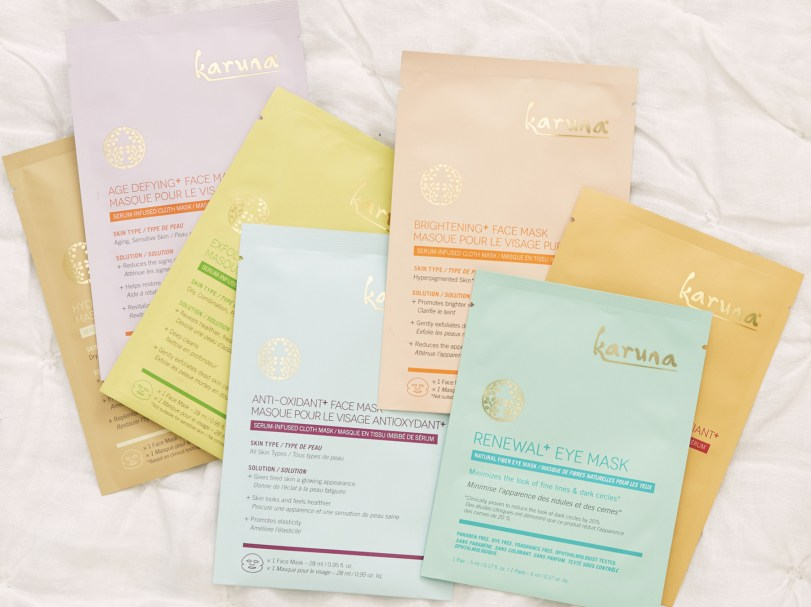 FabFitFun Winter 2019 Box Spoilers + Promo Code | Karuna Face For All Face & Eye Mask Set