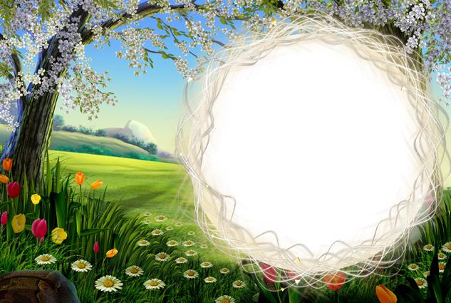 Landscape picture frame material download  Free download