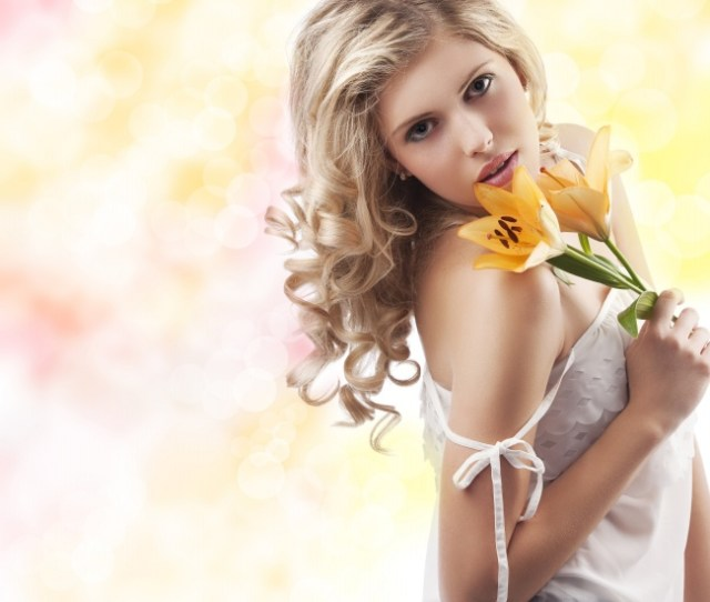 Sexy Sweet Shoulder Flower Girls Pictures