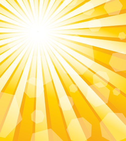 Dazzle sunshine background vector 01  Free download
