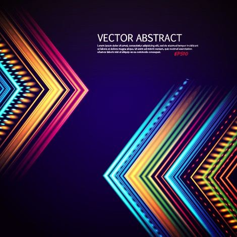 Vector abstract colorful background 05  Free download