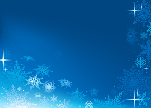 Brilliant Snowflakes Winter vector backgrounds 05  Free download