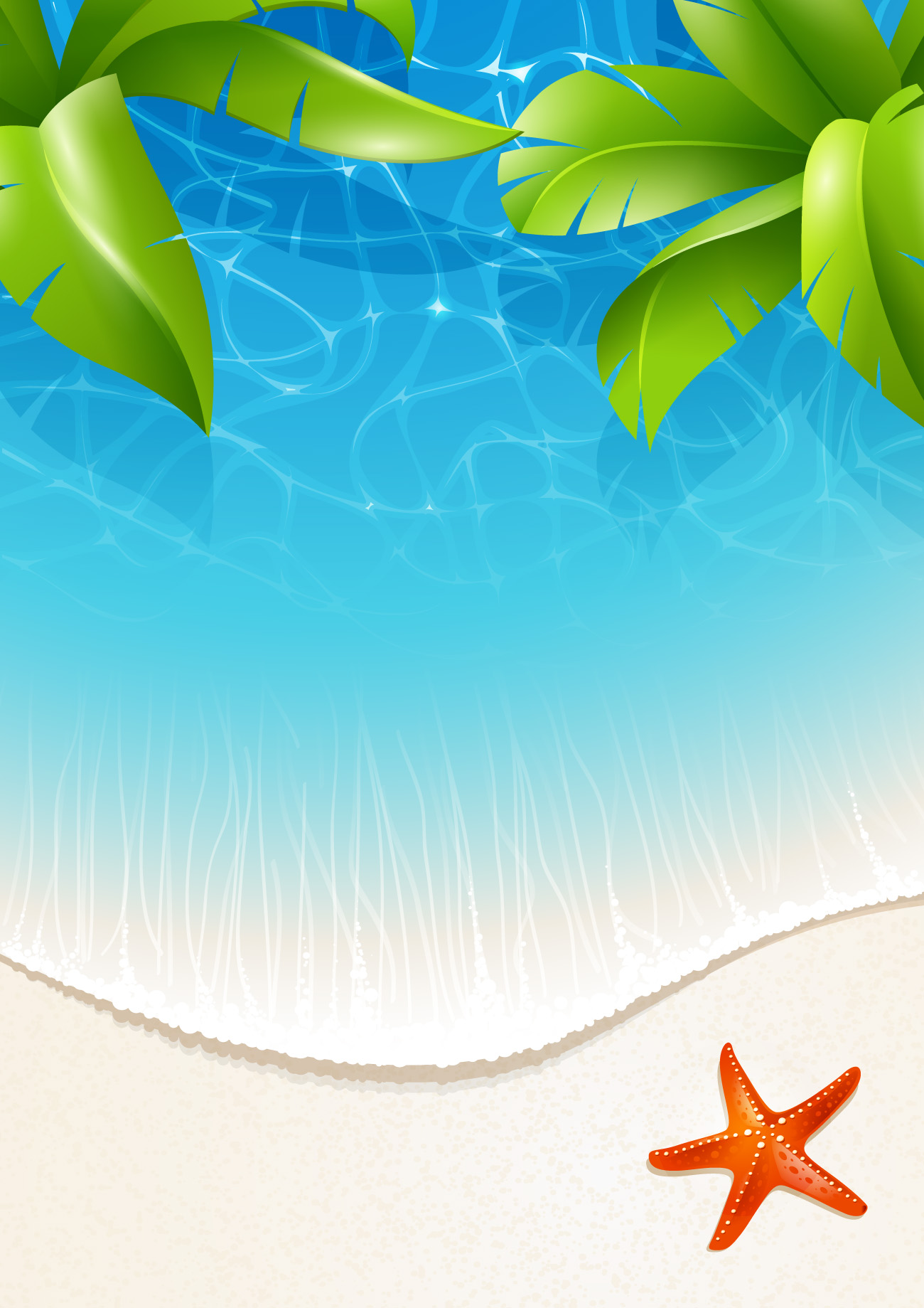Beautiful Tropical Backgrounds vector 03  Free download