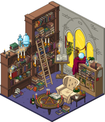 library dark society occult death guy interior patty spoilers halloween event character drive profile building