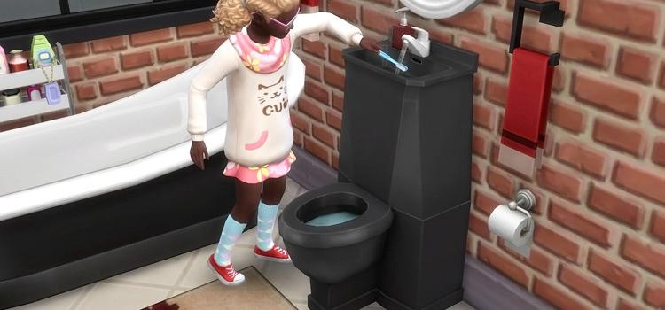 sims 4 toilet bidet cc all free to