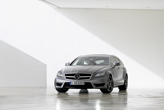 Nasce la prima coupwagon sportiva  la Mercedes CLS 63 AMG Shooting Brake