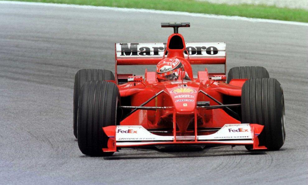 Schumacher la Ferrari F12000 del 1 titolo va allasta