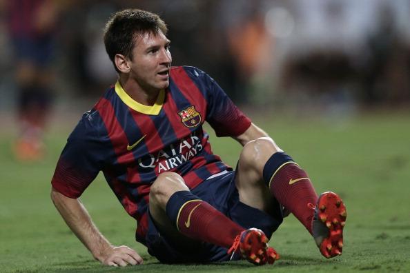 Infortunio per Messi largentino stringer i denti per la sfida con lItalia