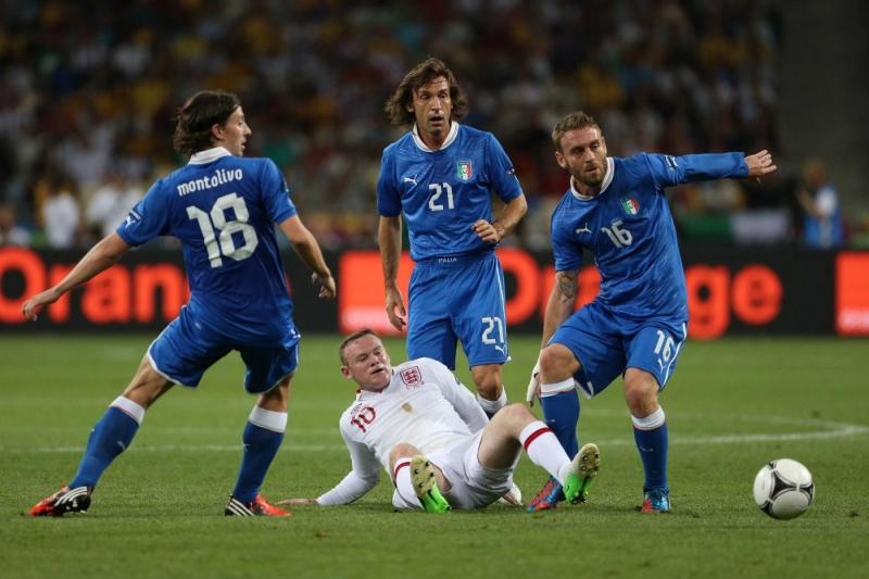 Le immagini di InghilterraItalia  Calcio Fanpage