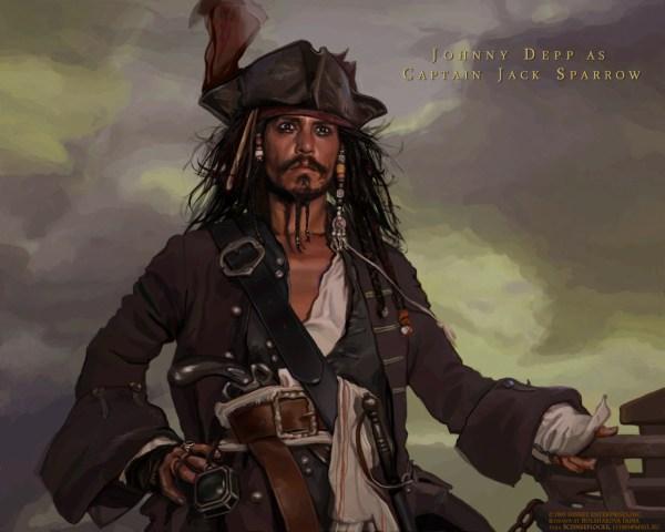 Johnny Depp Captain Jack Sparrow
