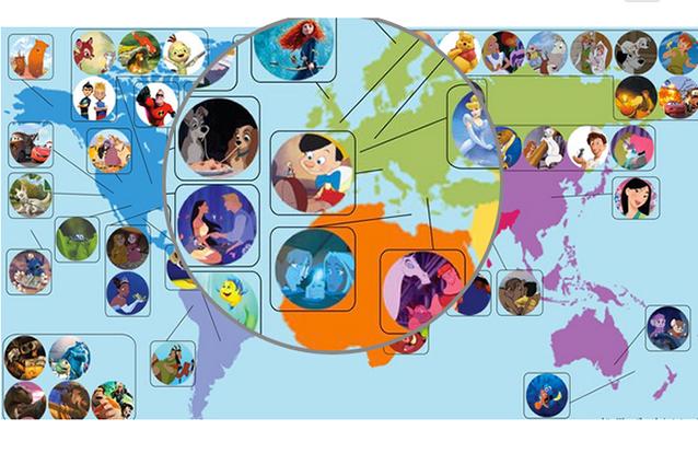 Le favole Disney nel mondo reale ecco dove sono ambientate