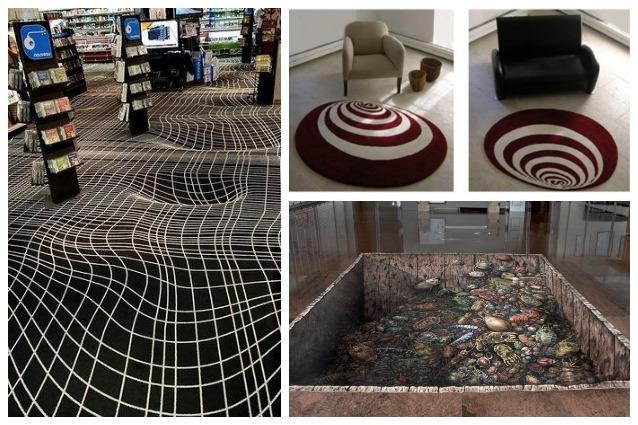 Illusioni ottiche i 10 tappeti pi assurdi che abbiate