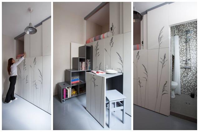 Parigi vivere in 8 metri quadri ma con tutti i comfort