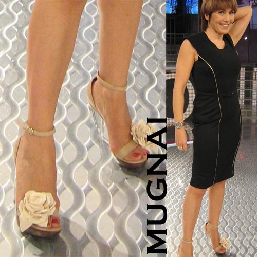 Le scarpe di Barbara DUrso collezione Mugnai  Donna Fanpage