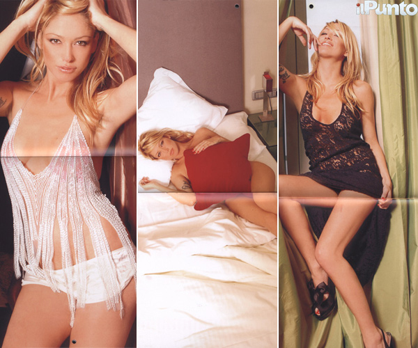 Christine del Rio dal Gf 8 al sexy calendario 2010