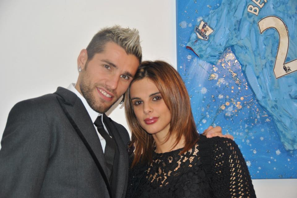 Elena Bonzanni fidanzata di Behrami  la nuova First Lady azzurra
