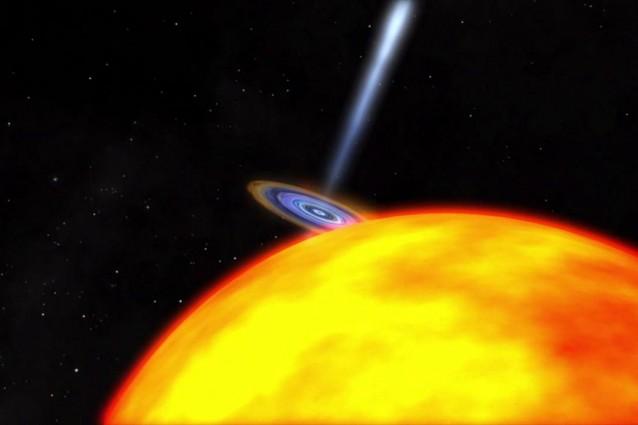 Buchi neri microscopici potrebbero attraversare la Terra.