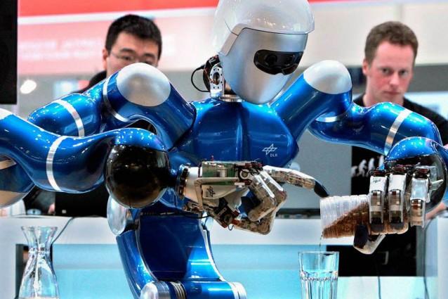 Ecco Justin, l'androide europeo che esplorerà lo spazio.