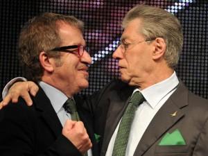 Lega Nord, pace fatta tra Bossi e Maroni.