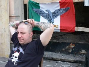 A Guidonia arrivano naziskin da tutta Italia (e non solo).