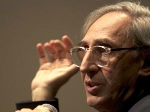 Franco Battiato, il cantautore-assessore della Regione Sicilia.