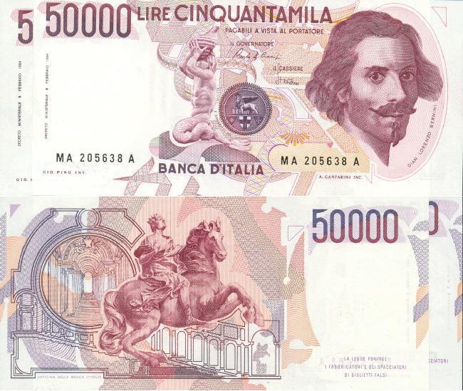 Banconote Rare Italiane Valore E Immagini