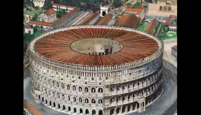 Il Colosseo di Roma ricostruito in un video