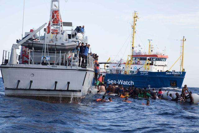 Risultati immagini per 50 migranti ong guardia costiera libica