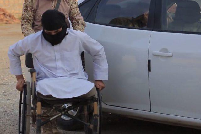L'attentatore disabile che si è fatto esplodere a Mosul a gennaio del 2017