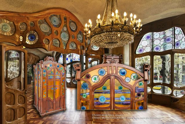 Italia ritrovato lascensore di Casa Batll di Gaud
