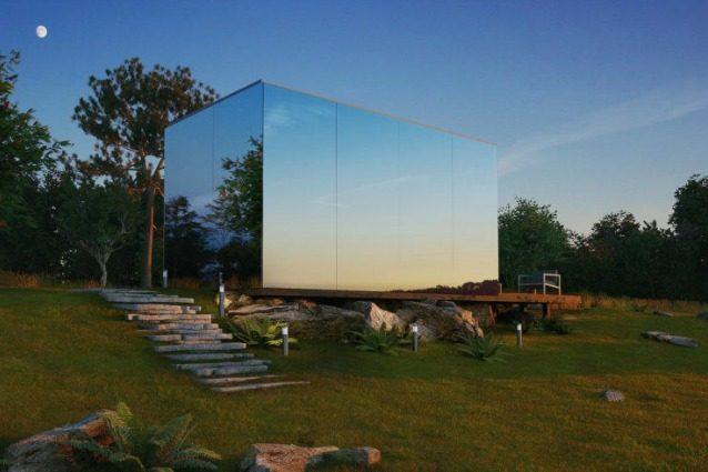 OOD le case di vetro che si costruiscono in 8 ore con meno di 40000 euro