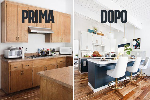 La vecchia cucina deve essere ristrutturata Ecco come rinnovare casa col faidate