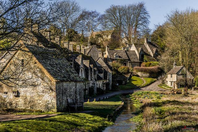 Bibury un villaggio da fiaba in Inghilterra