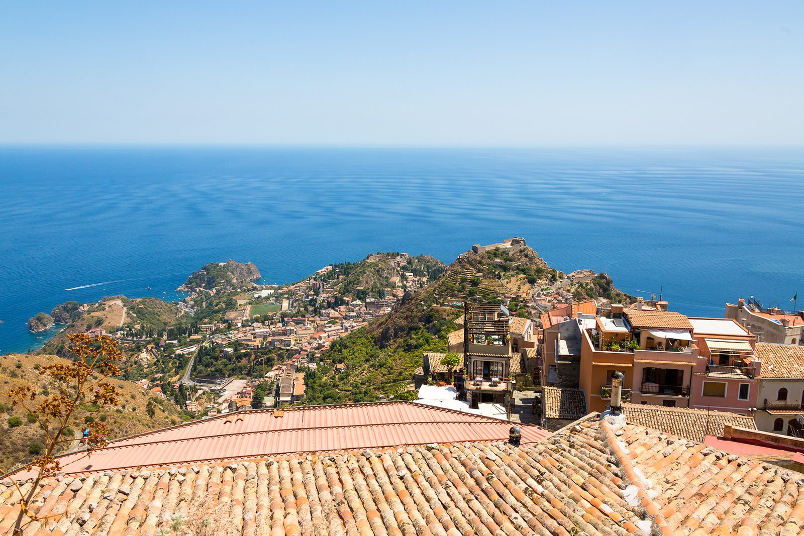 Castelmola lacropoli di Taormina