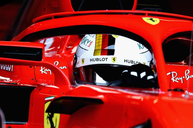 F1 ecco il nuovo casco che indosser Vettel nel 2018