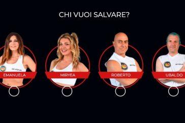Isola dei Famosi 2021, nominati Emanuela Tittocchia, Miryea Stabile, Roberto Ciufoli e Ubaldo Lanzo