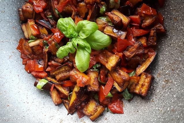 Cucina Napoletana Melanzane A Funghetti
