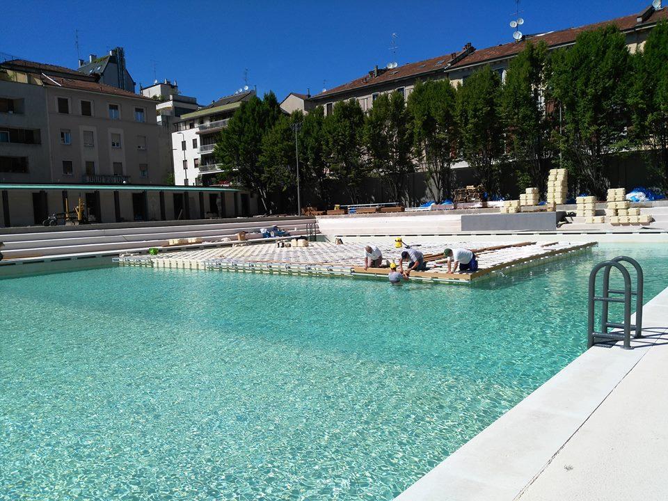Milano il 23 giugno riapre la storica piscina Caimi in
