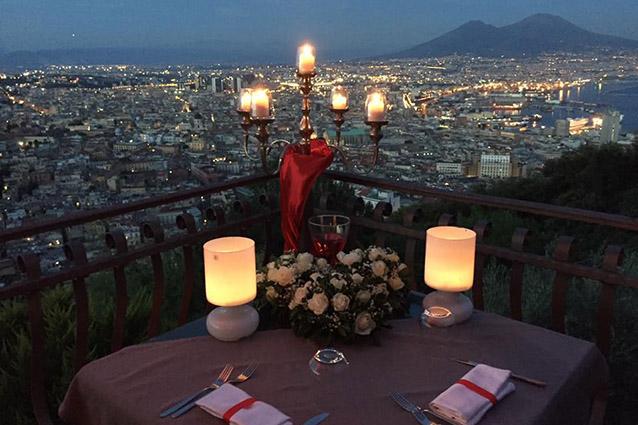 I 7 ristoranti pi romantici di Napoli