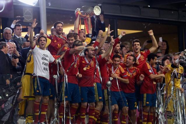 Europei 20082012 la rivoluzione spagnola