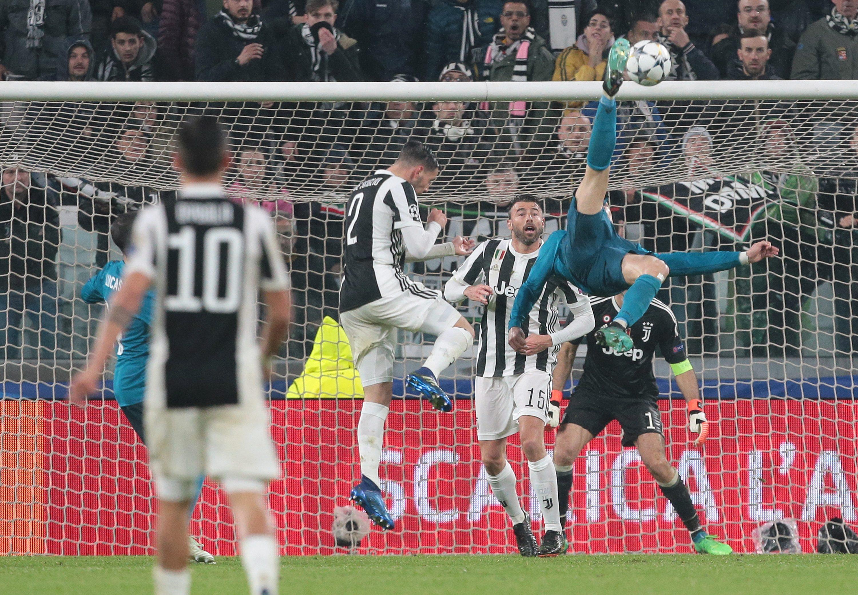 Cristiano Ronaldo a che altezza ha saltato per segnare in rovesciata alla Juve
